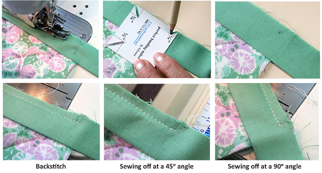 How To Bind A Quilt Machine Quilt Binding Tutorial Interesting How To Sew Binding On A Quilt With A Machine