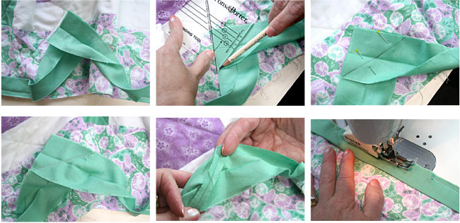 How To Bind A Quilt Machine Quilt Binding Tutorial New How To Sew Binding On A Quilt With A Machine