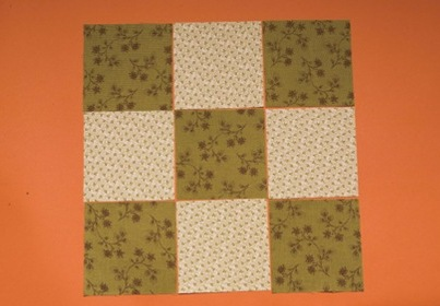 Nine patch lesson 1 basic piecing with charms connectingthreads maxwellsz