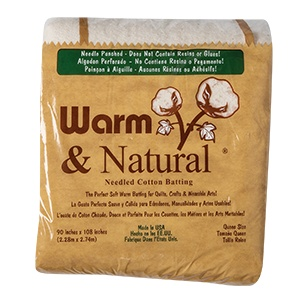 Warm & Natural Cotton