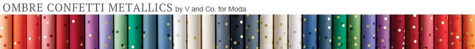 Ombre Confetti Fabric Collection