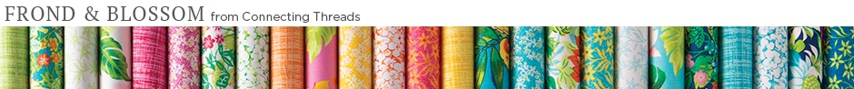 Frond and Blossom Fabric Collection
