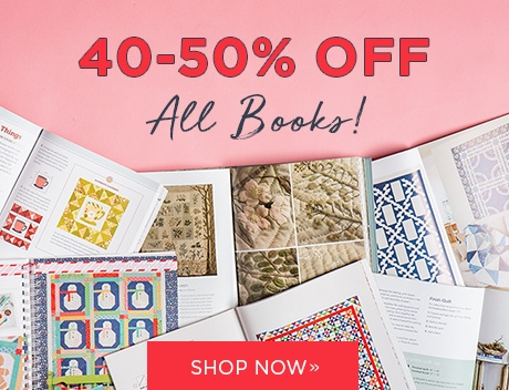 40-50% Off All Books