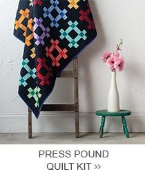 Press Pound Quilt Kit