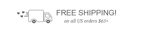 Free Shipping on all US order $65+