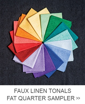 Faux Linen Tonals Fat Quarter Sampler