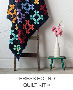 Press Pound Quilt Kit