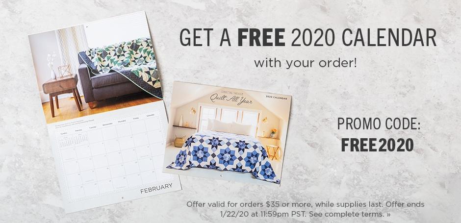 Free Calendar Promo
