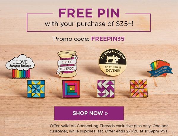 Free Pin Promo WN20