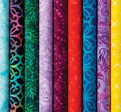 Rainbow Batiks
