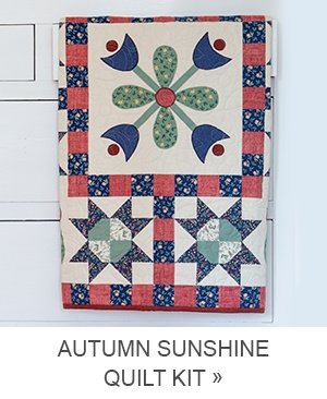 Autumn Sunshine Quilt Kit