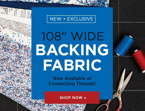 108 Wide Backing