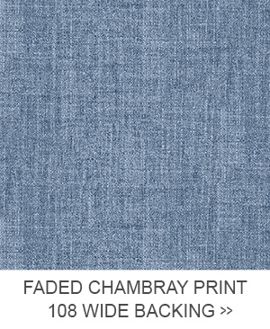 Faded Chambray Print 108 Wide Backing