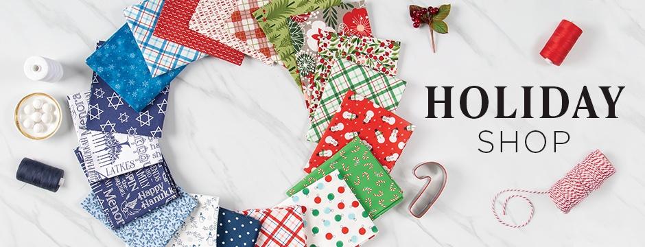 Holiday and Christmas Fabric