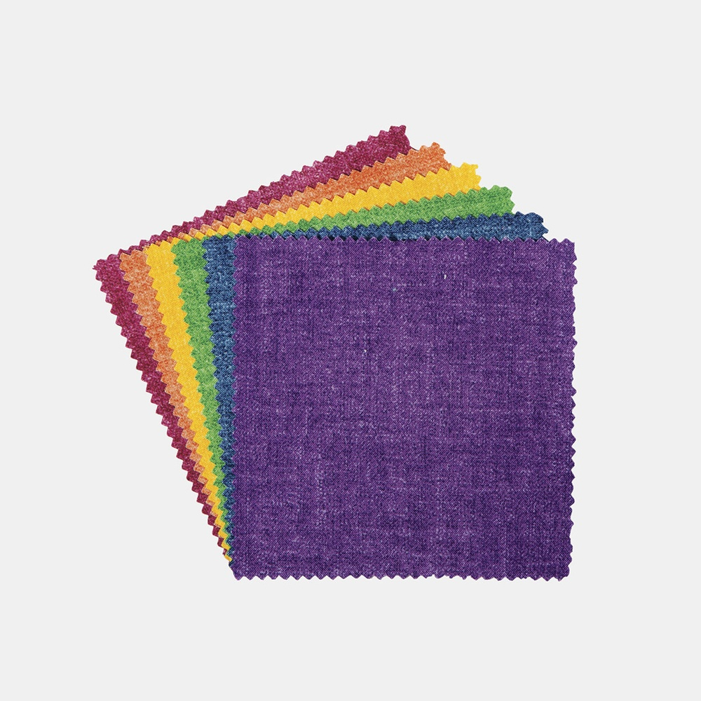 Chambray Tonals Garden Oasis Charms 40 Fabrics Connectingthreads Com