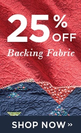 Backing Fabric Sale