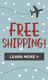 Free Shipping Extended!