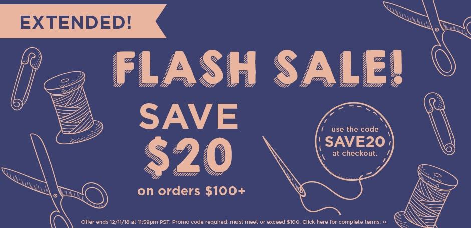 Flash Sale Extended!