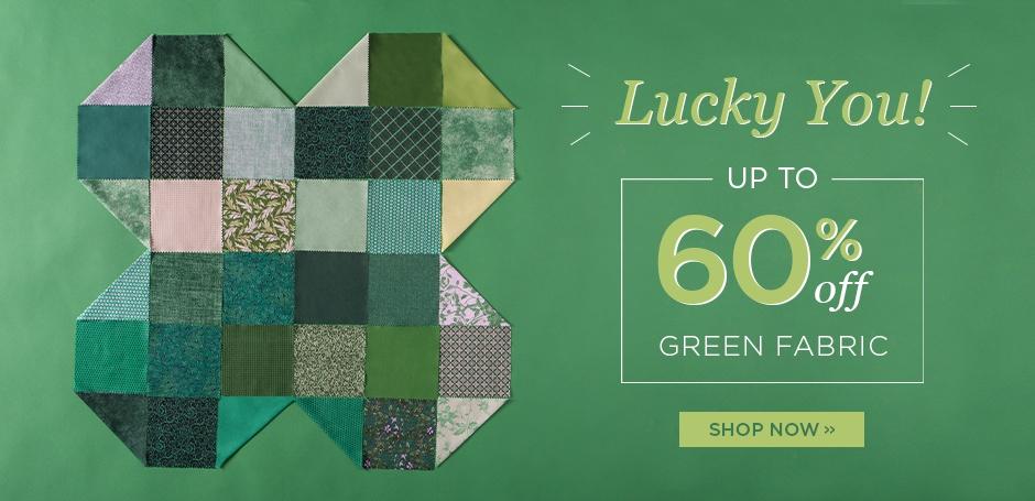 Green Fabric Sale