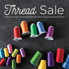 Thread Sale