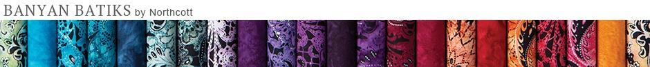 Banyan Batiks Fabric Collection