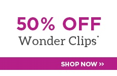 50% Off Wonder Clips