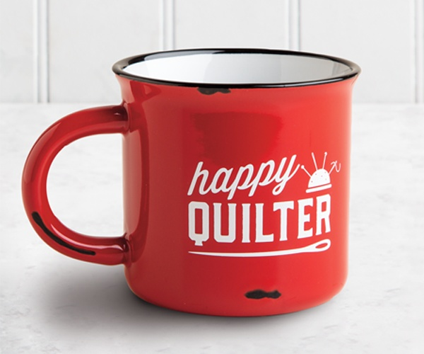 HAPPY QUILTER MUG