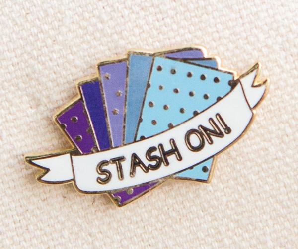STASH ON! PIN