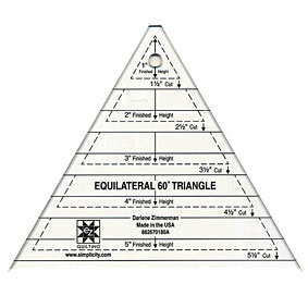 photo about Triangle Template Printable called Equilateral 60° Triangle Template