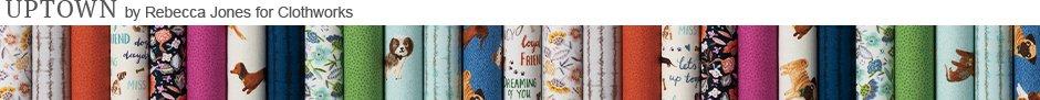 Uptown by Rebecca Jones for Clothworks