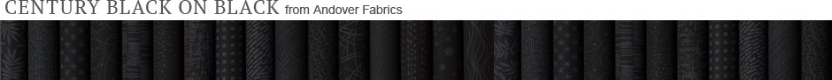 Century Black on Black from Andover Fabrics
