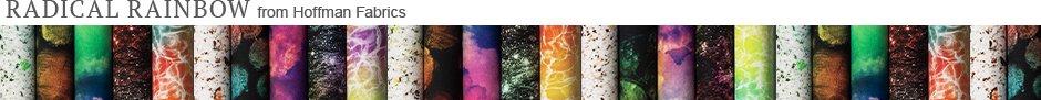 Radical Rainbow from Hoffman Fabrics