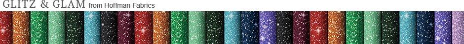 Glitz and Glam from Hoffman Fabrics