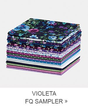 Violeta Fat Quarter Sampler