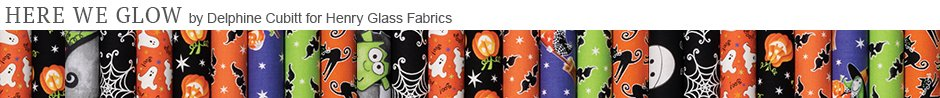 Here We Glow by Delphine Cubitt for Henry Glass Fabrics