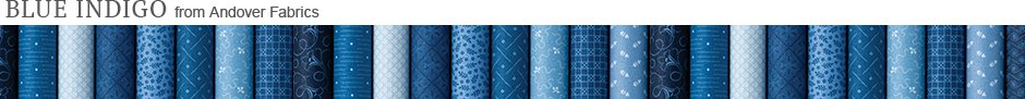 Blue Indigo from Andover Fabrics