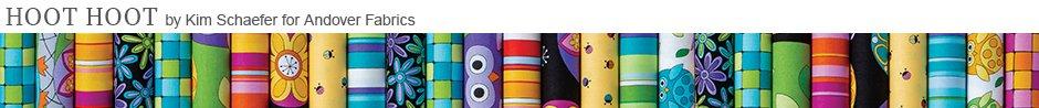 Hoot Hoot by Kim Schaefer for Andover Fabrics