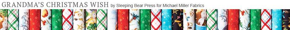 Grandma's Christmas Wish by Sleeping Bear Press for Michael Miller Fabrics