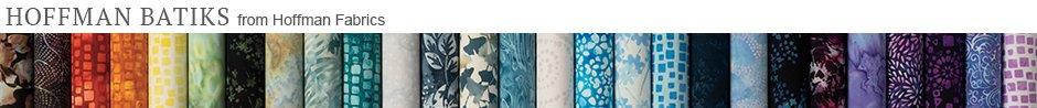 Hoffman Batiks from Hoffman Fabrics
