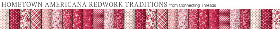 Hometown Americana Redwork Traditions - Exclusively from Connecting Threads