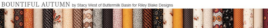 Bountiful Autumn by Buttermilk Basin for Riley Blake Designs