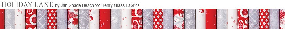 Holiday Lane by Jan Shade Beach for Henry Glass Fabrics