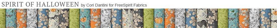 Spirit of Halloween by Cori Dantini for FreeSpirit Fabrics