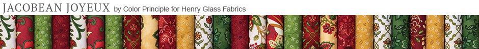 Jacobean Joyeux by Color Principle for Henry Glass Fabrics