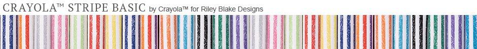 Crayola Stripe Basic by Crayola for Riley Blake Designs