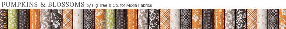 Pumpkins & Blossoms by Fig Tree & Co. for Moda Fabrics