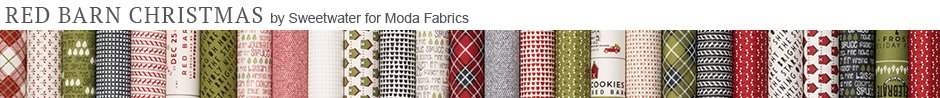 Red Barn Christmas by Sweetwater for Moda Fabrics