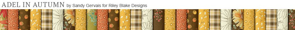Adel in Autumn by Sandy Gervais for Riley Blake Designs