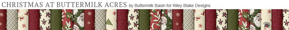 Christmas at Buttermilk Acres by Buttermilk Basin for Riley Blake Designs