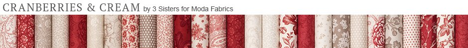 Cranberries & Cream by 3 Sisters for Moda Fabrics